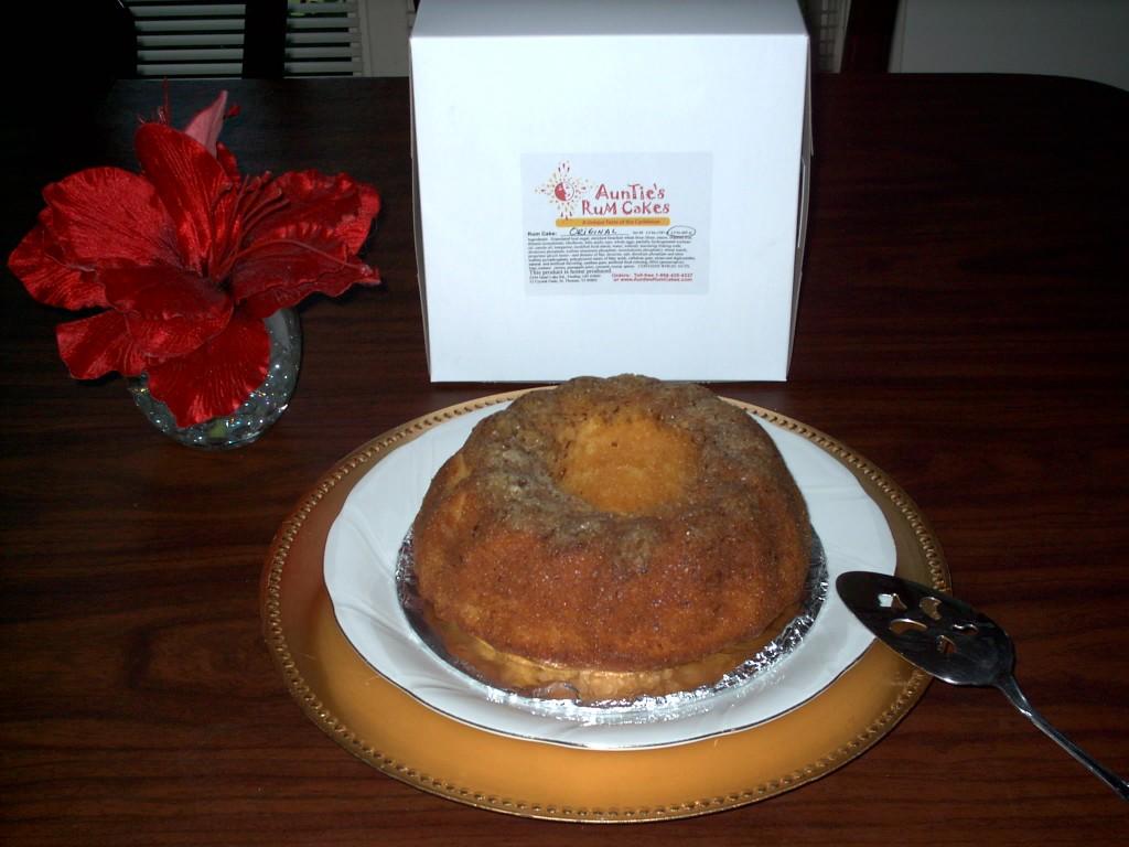 'Small Original Rum Cake